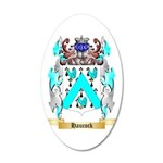 Haucock 35x21 Oval Wall Decal