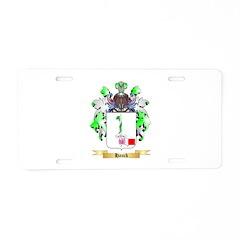 Hauck Aluminum License Plate