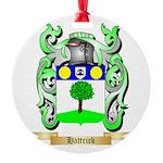 Hattrick Round Ornament