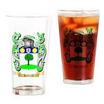Hattrick Drinking Glass
