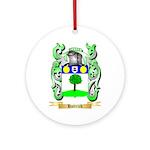 Hattrick Ornament (Round)