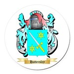 Hattersley Round Car Magnet