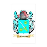 Hatterslay Sticker (Rectangle 10 pk)