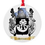 Hathway Round Ornament