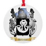 Hathaway Round Ornament