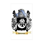Hathaway Sticker (Rectangle 50 pk)