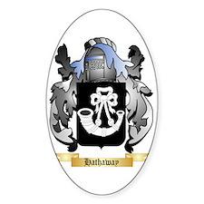 Hathaway Sticker (Oval)