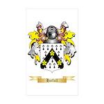 Hatfull Sticker (Rectangle 50 pk)