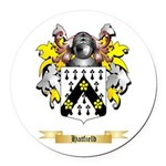 Hatfield Round Car Magnet