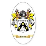 Hatfield Sticker (Oval 50 pk)