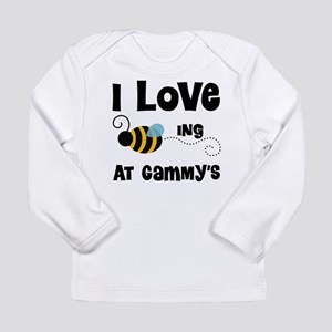 Beeing At Gammy's Long Sleeve Infant T-Shirt