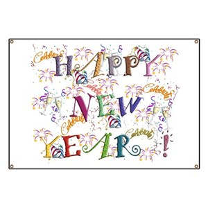 new year banners cafepress