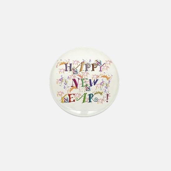 Happy New Year! Mini Button