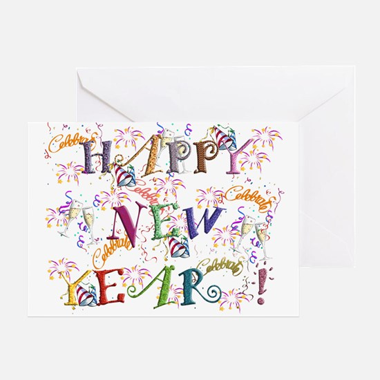 Happy New Year! Greeting Cards