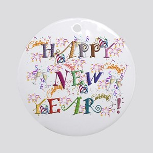Happy New Year! Ornament (round)