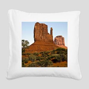 Monument Valley, Utah Square Canvas Pillow