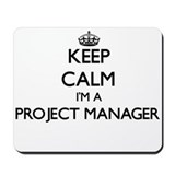Project manager Classic Mousepad