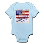 American Eagle US NAVY Infant Creeper