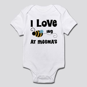 Beeing At Meema's Infant Bodysuit