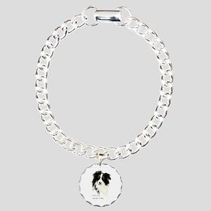 I love my Border Collie Pet Dog Charm Bracelet, On