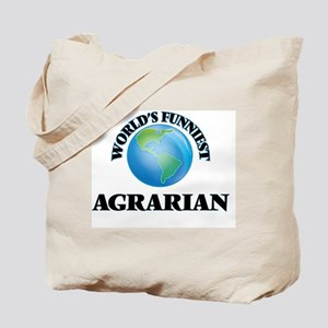 World's Funniest Agrarian Tote Bag