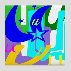 Initial Design (U) Tile Coaster