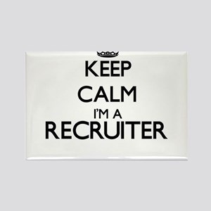 Keep calm I'm a Recruiter Magnets