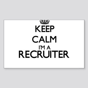 Keep calm I'm a Recruiter Sticker