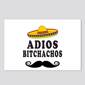 Adios Bitchachos Postcards (Package of 8)