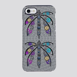 Steampunk Dragonfly iPhone 7 Tough Case