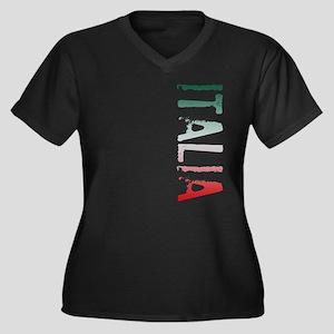 co-stamp02-italia Plus Size T-Shirt