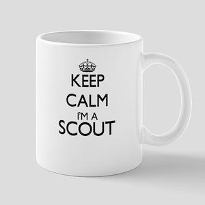 Keep calm I'm a Scout Mugs