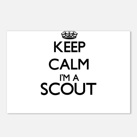 Keep calm I'm a Scout Postcards (Package of 8)