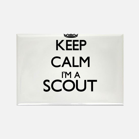 Keep calm I'm a Scout Magnets