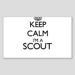 Keep calm I'm a Scout Sticker