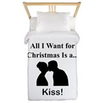 Christmas Kiss Twin Duvet