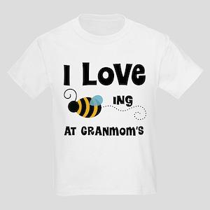 Beeing At Granmom's Kids Light T-Shirt