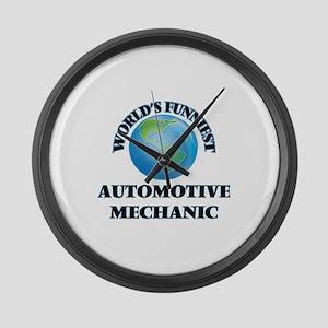 World's Funniest Automotive Mecha Large Wall Clock