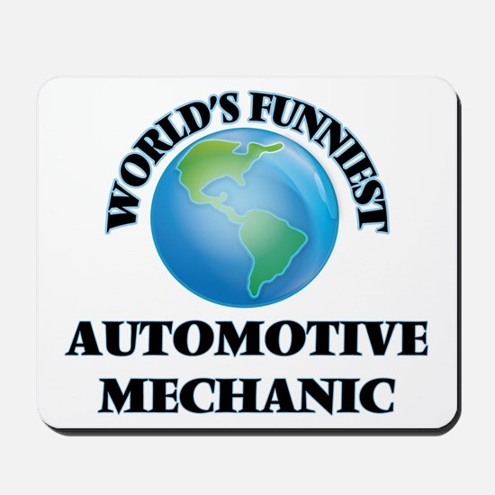 World's Funniest Automotive Mechanic Mousepad