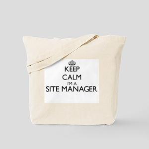 Keep calm I'm a Site Manager Tote Bag