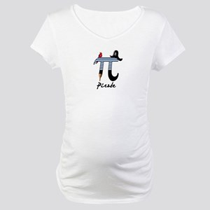 Pi Pirate Maternity T-Shirt