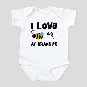 Beeing At Granny's Infant Bodysuit