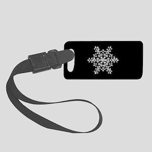 DIAMOND SNOWFLAKE Small Luggage Tag