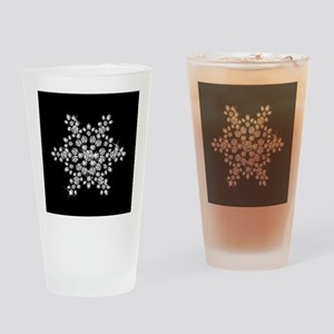 DIAMOND SNOWFLAKE Drinking Glass