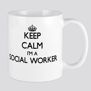 Keep calm I'm a Social Worker Mugs