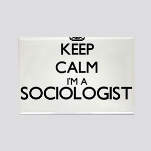 Keep calm I'm a Sociologist Magnets