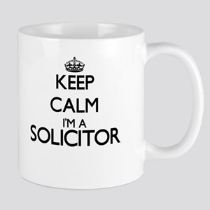 Keep calm I'm a Solicitor Mugs