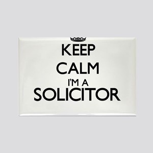 Keep calm I'm a Solicitor Magnets