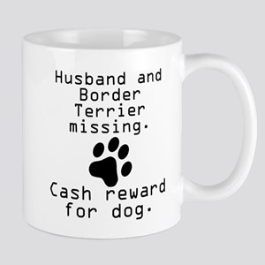 Husband And Border Terrier Missing Mugs