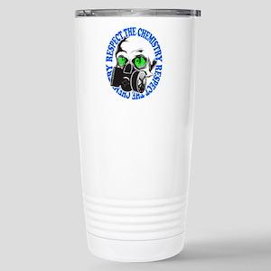 Respect the Chemistry Stainless Steel Travel Mug